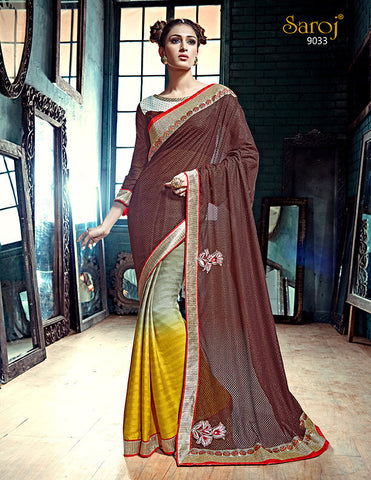 Ada Saree 9025 and Ada Saree 9033 Combo Offer