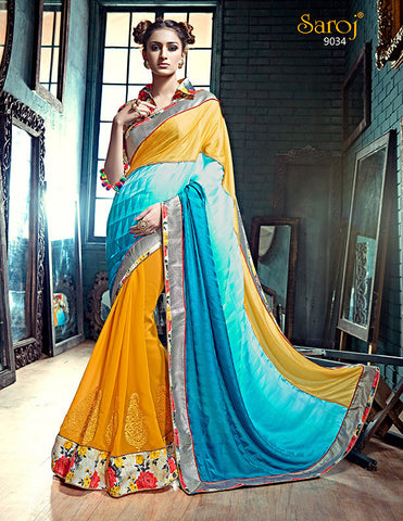 Ada Saree 9025 and Ada Saree 9034 Combo Offer