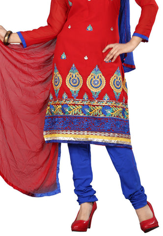 Red Georgette Party Wear suits