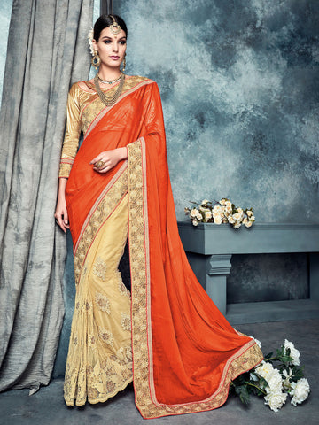 Solitaire 7 saree 7157
