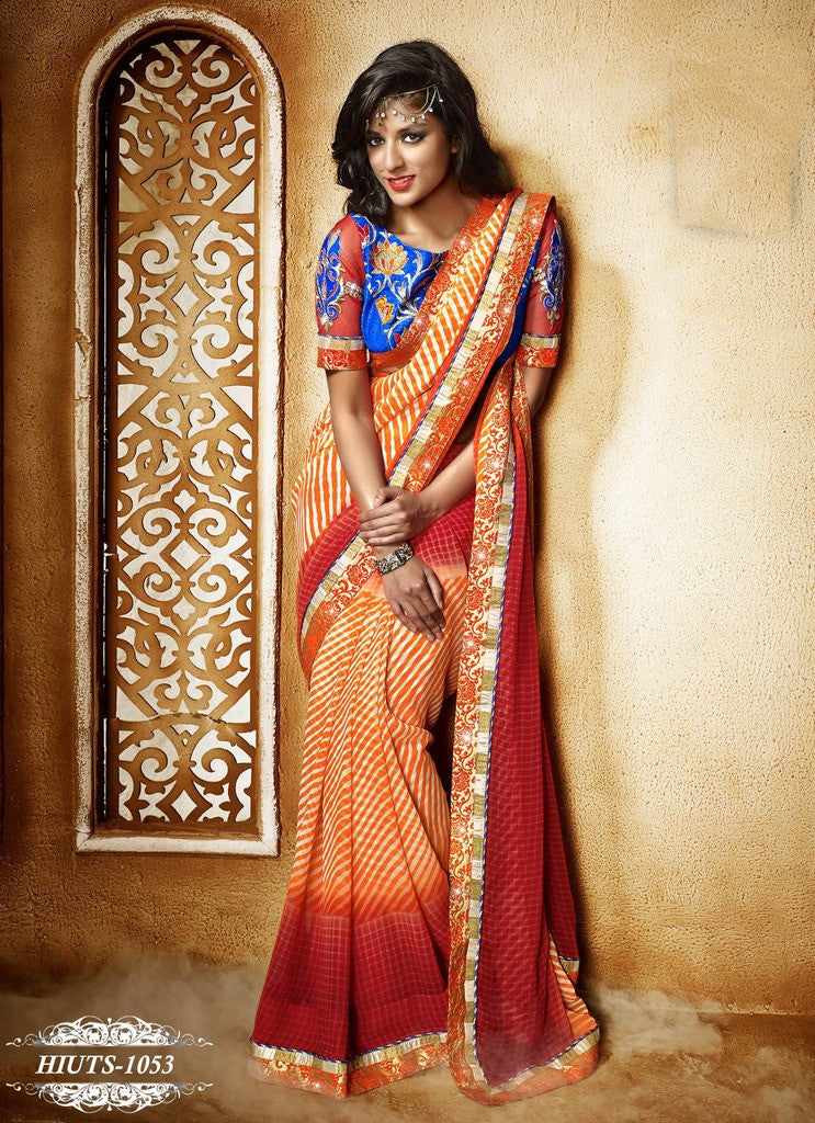 e19a0e09a6455 Buy In Raipur Online Wedding Sarees On Cash On Delivery – Banglewale  International