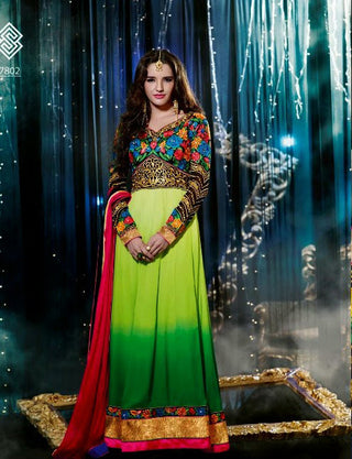 Swagat Collection long anarkali Suit 7802