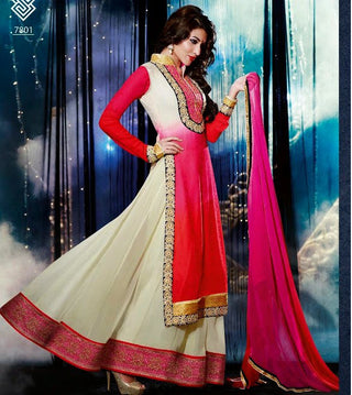 Swagat Collection long anarkali Suit 7801