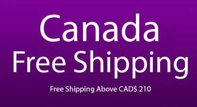 Canada free shipping for Saree and Churidar