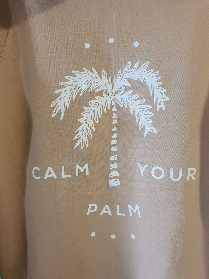 Calm Your Palm Sweater