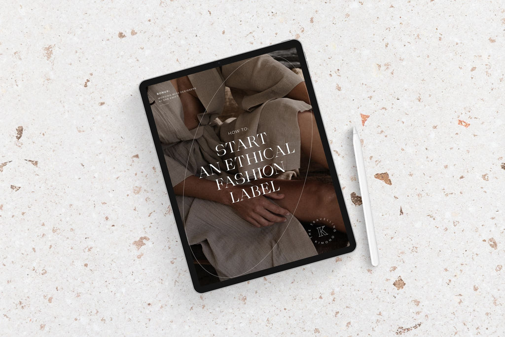 Ebook - How to start an ethical fashion label