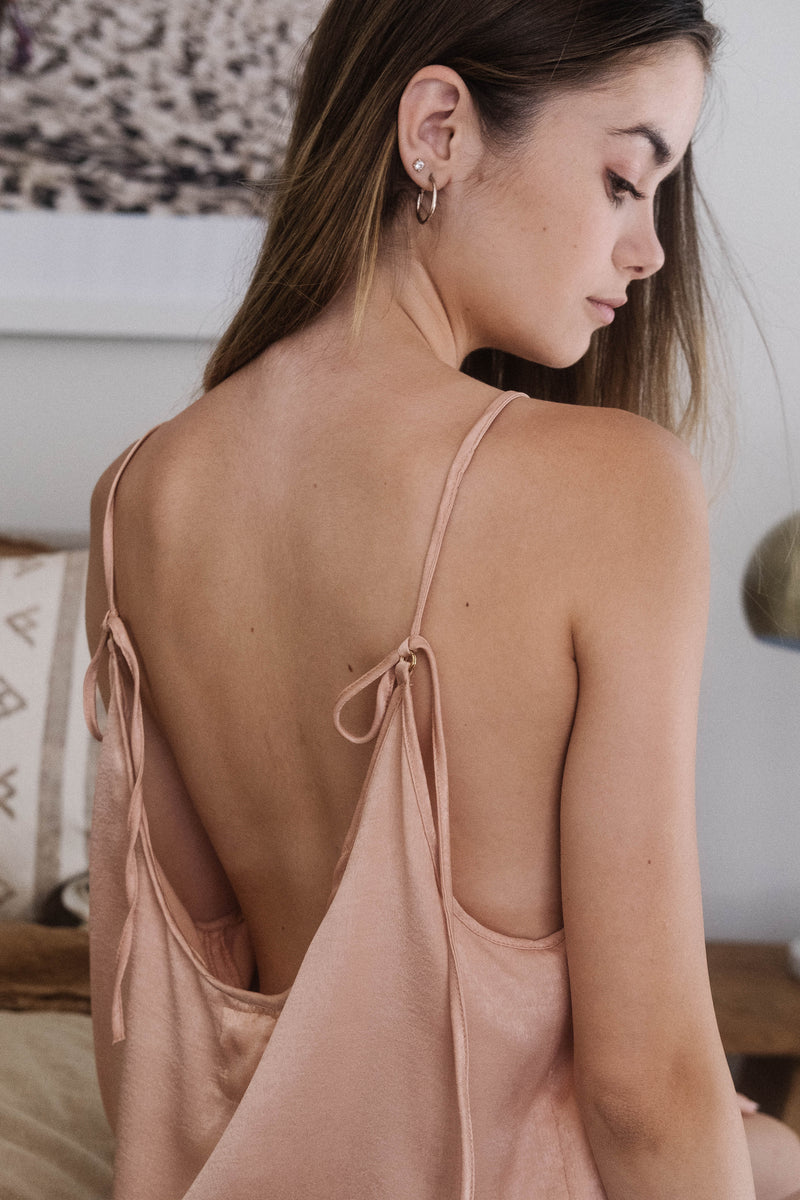 The Romantic Silk Bridal Slip - final sale