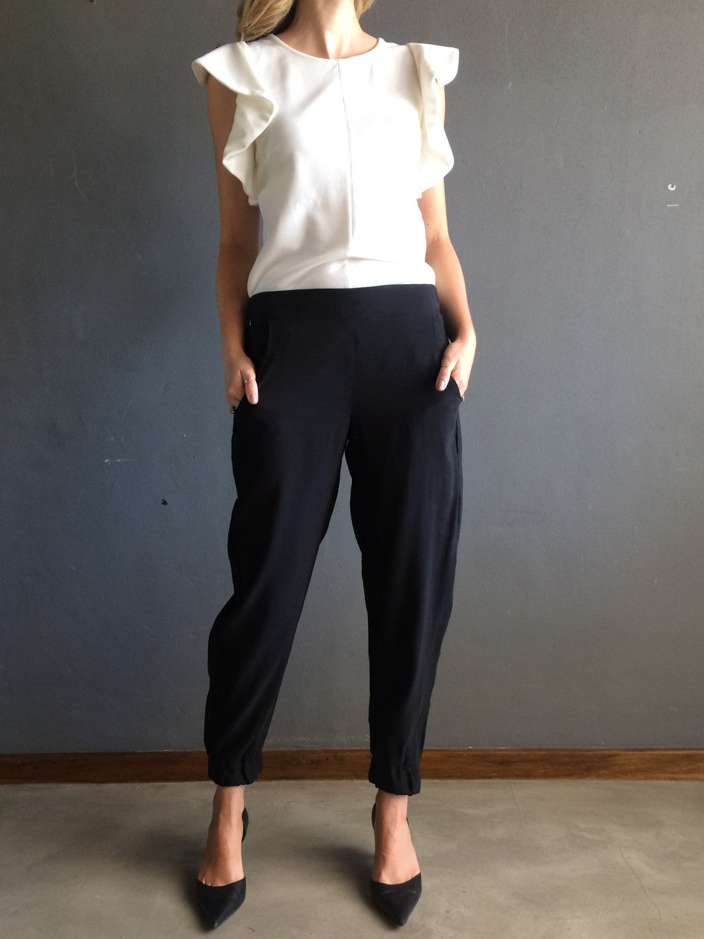 MADE TO ORDER -    BLACK | THE PARTY PANTS