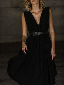 SALE!! BLACK | THE FLOW DRESS