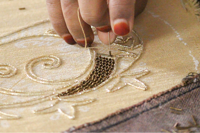The Princely Art of Zardozi Embroidery