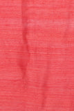 Crimson Red Handloom Pure Matka Silk Saree