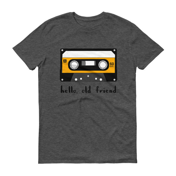 hello, old friend Short sleeve t-shirt