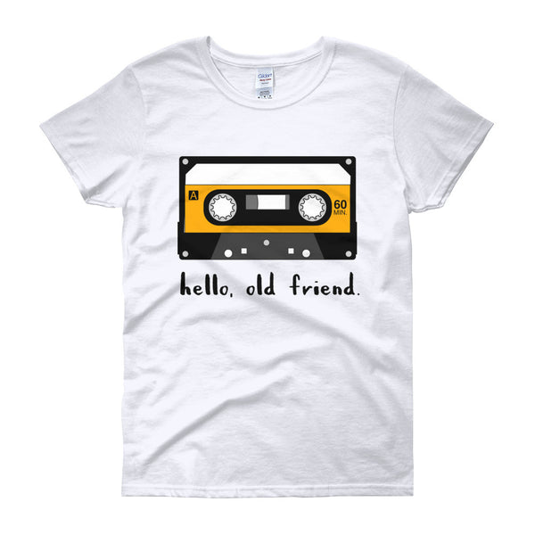 hello, old friend Women's short sleeve t-shirt