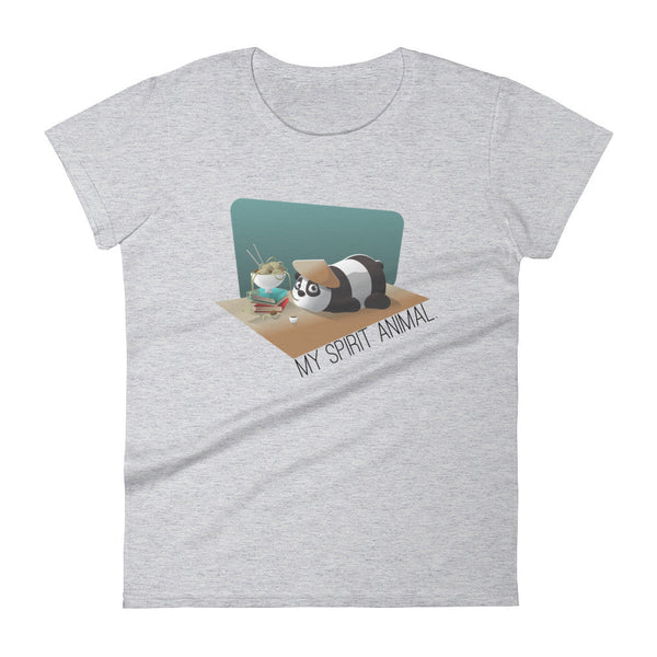 Panda is my Spirit Animal Women's short sleeve t-shirt