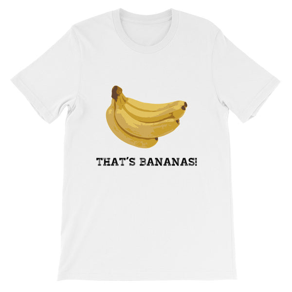 That's Bananas Unisex short sleeve t-shirt