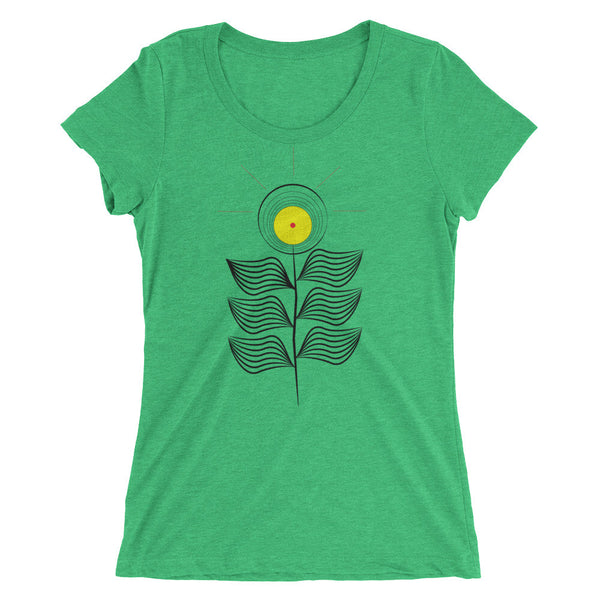 Sun Flower Ladies' short sleeve t-shirt