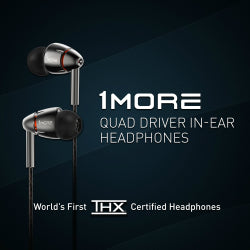 1MORE QUAD DRIVER IN EAR HEADPHONE