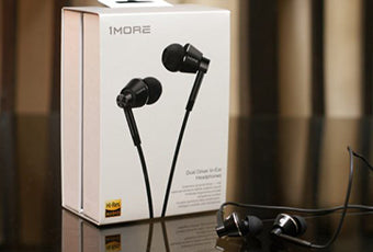 1MORE Dual Driver Earphone With Mic