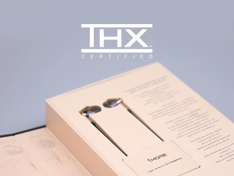 Worlds First THX Certified Earphones