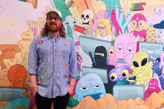 Andrew Rae | From Daydream & Imagination to Full-Time Illustration