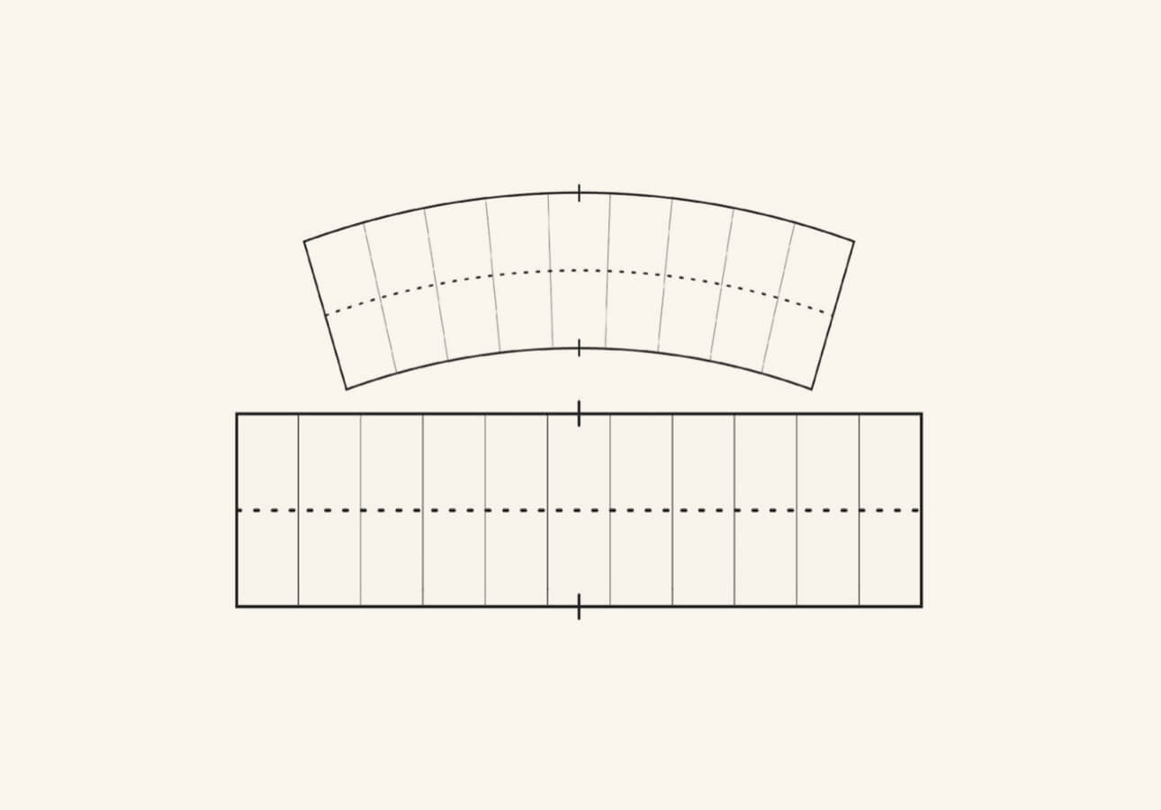 Two rectangular alignment grids from the Grid Builder Brush Set featured on a white background.
