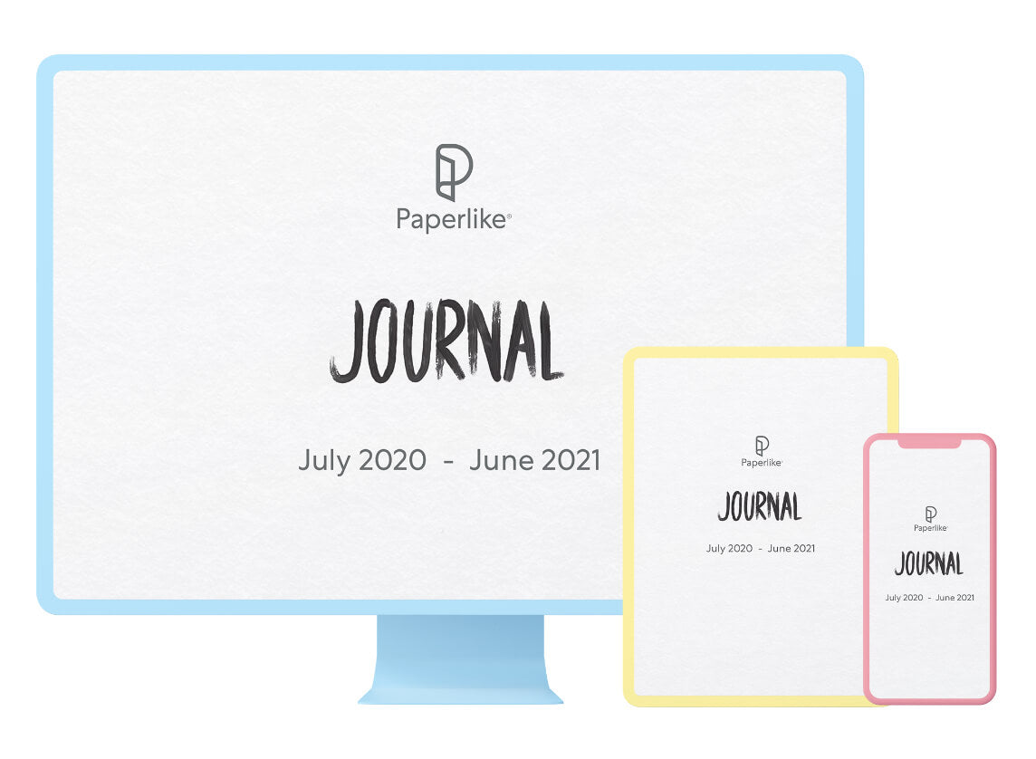 Multiple devices with the Paperlike Digital Journal