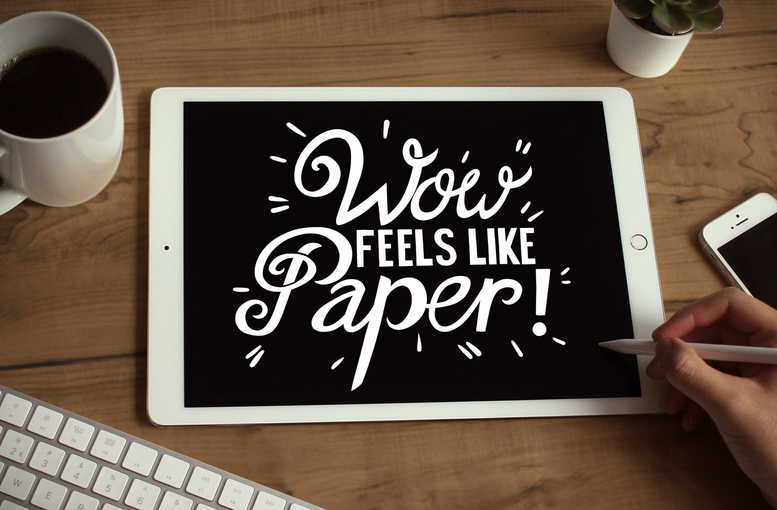 PaperLike Screen Protector: write and draw on your iPad like