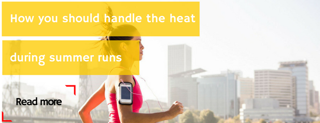 How you should handle the heat during summer runs