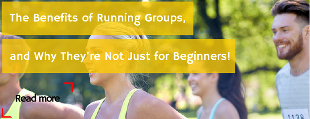 The Benefits of Running Groups, and Why They're Not Just for Beginners!