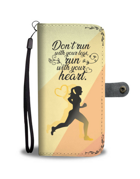 RunningReady Phone Case - Run With Your Heart