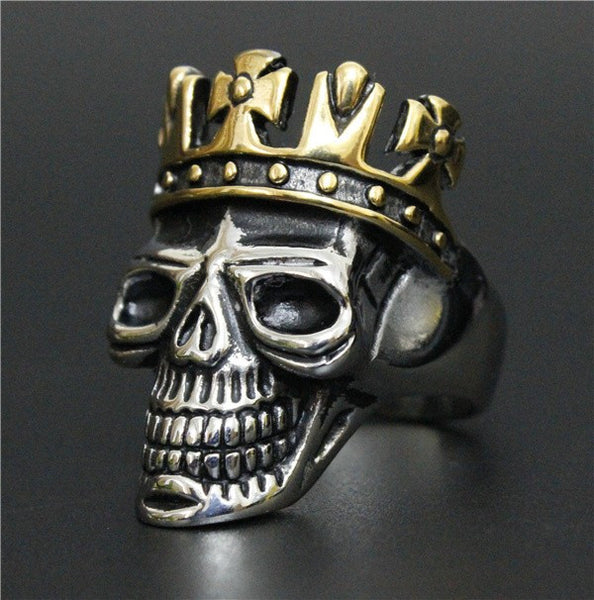 Top Quality King Of Skull Ring Top Quality
