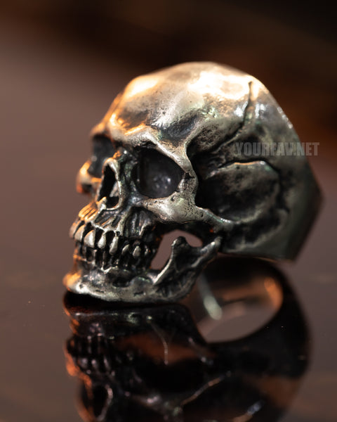 Sterling Silver Skull Ring | Large Size