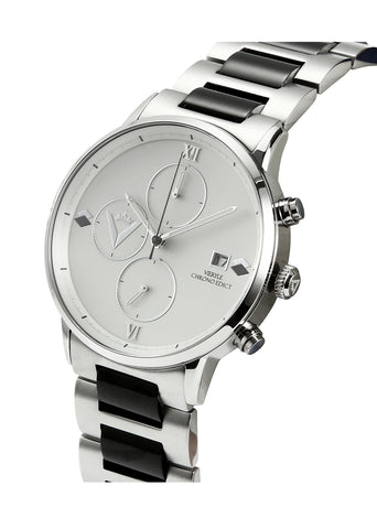 Edict Watch - White/Black with Bracelet