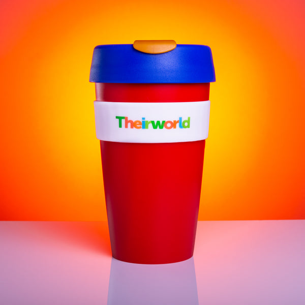 Theirworld Reusable KeepCup - Vibrant Red