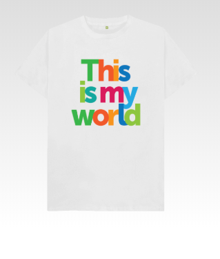 This Is My World Kid's T-Shirt