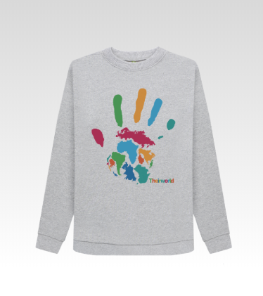 Theirworld Handprint Jumper - Women's