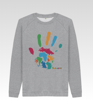 Theirworld Handprint Sweatshirt - Men's