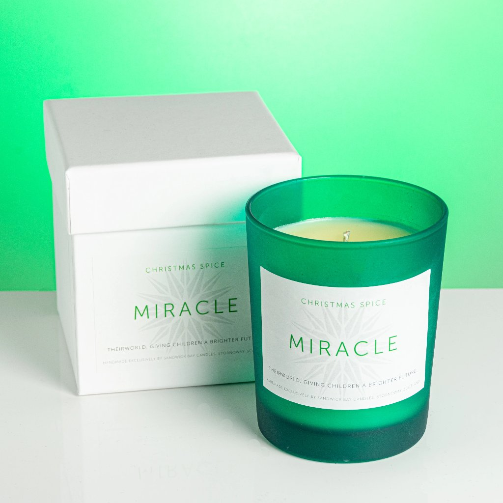 'Miracle' Theirworld Christmas candle