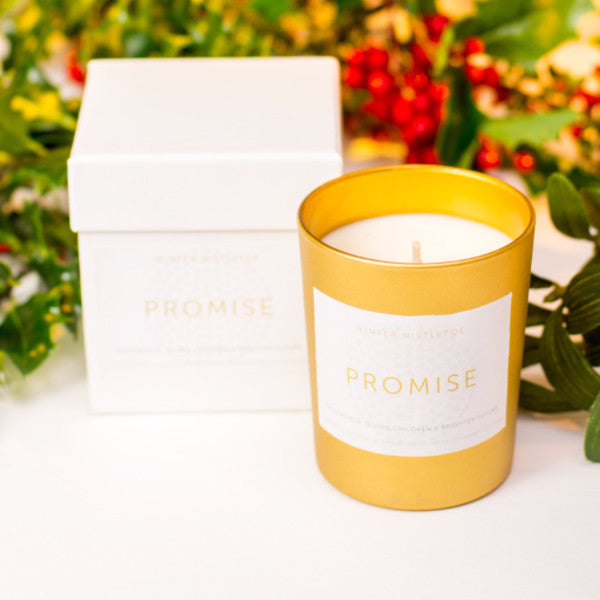 Winter Mistletoe Candle
