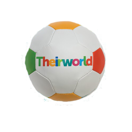The limited edition Theirworld football