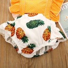 Load image into Gallery viewer, Pineapple Romper