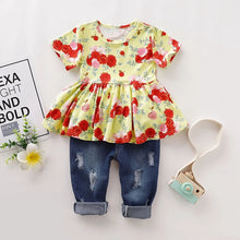 Load image into Gallery viewer, Blossom Top & Jeans - Mom and Bebe Ph