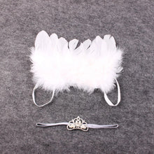 Load image into Gallery viewer, Angel Wings & Crown Photo Props - Mom and Bebe Ph