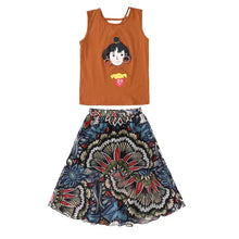 Load image into Gallery viewer, Kids Top & Skirt 3-13Y - Mom and Bebe Ph