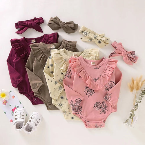 1 Bodysuit + Headband Set - Mom and Bebe Ph