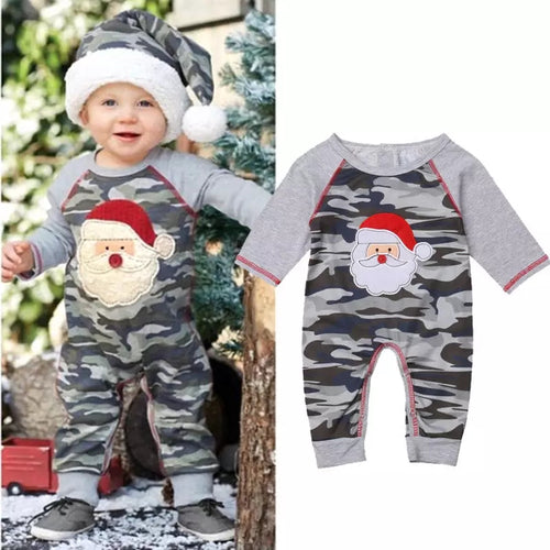 Camo Xmas Romper - Mom and Bebe Ph
