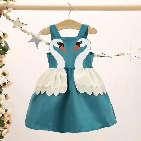 Swan Summer Dress - Mom and Bebe Ph