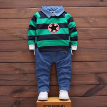Load image into Gallery viewer, Stripe Top & Long Pants (G) - Mom and Bebe Ph