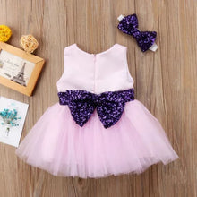Load image into Gallery viewer, Dress & Headband Pink Purple - Mom and Bebe Ph