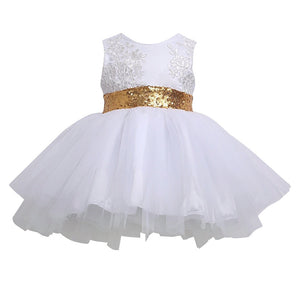 Elegant Dress (White) - Mom and Bebe Ph